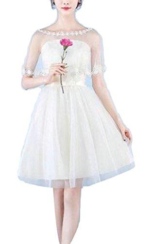 Mini Women's Sleeveless line Summer Mesh Jaycargogo 14 Bridesmaid A Dress fOUx0qqdw