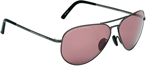 Porsche Designs Sunglasses P8508 J Dark Gray Jester Red 60 12 - Sun Porsche Design Glasses