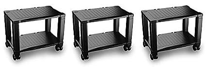 Home-Complete Impresora Stand-2-Tier mesa de escritorio para fax ...