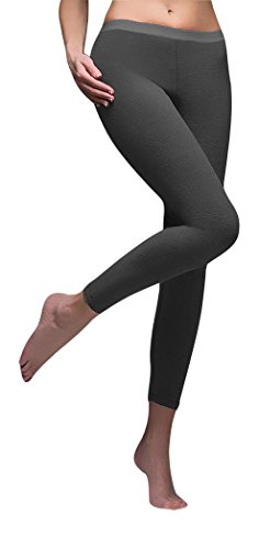 "Women's Heat Holders 0.61 tog Microfleece Thermal Base layer Leggings /Bottoms (XLarge Waist 30-33"")"