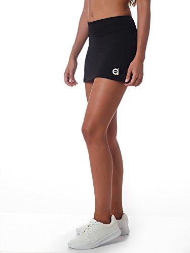 Fussion Noir Femme Sport Coupe Basic Jupe amp; Evasé A40grados Style BOw1qzg