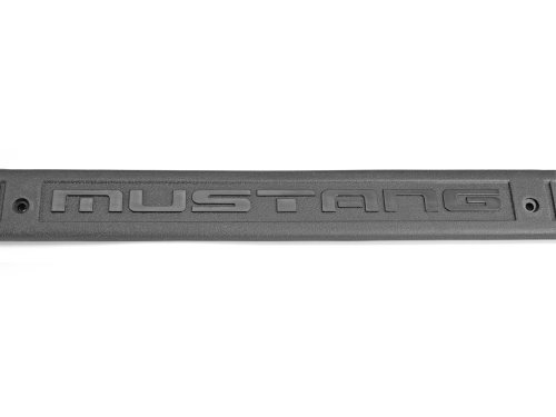 Scott Drake E5ZZ-6113208-GM Gray Sill Plate with 'Mustang' Logo ()