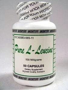 Montiff - L-leucine pure 500 mg 50 caps