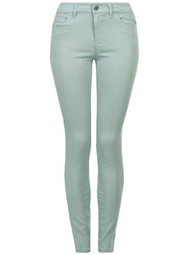 Ultra Jean 7000n Femme Slim de Couleur oodji Fit Bleu dzHqwd