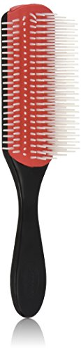 Denman Cushion Brush Nylon Bristles, - Hair Brush Bristle Nylon
