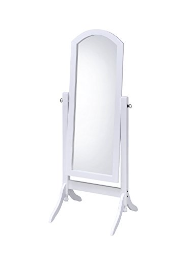 Proman Products CV17002 Barrington Cheval Mirror, White ()