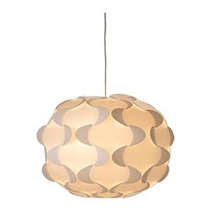 Amazon Com Ikea 801 550 12 Fillsta Pendant Lamp White 19 Inch Home Improvement