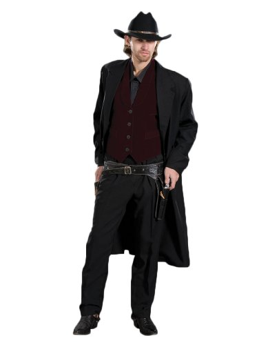 Deluxe Western Gunslinger Cowboy Theatrical Quality Costu...
