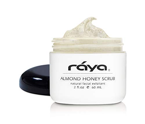 RAYA Almond Honey Facial Scrub (106) | Natural Exfoliating Facial Scrub for Non-Blemished Skin | Polishes, Softens, and Creates a Glowing Complexion ()