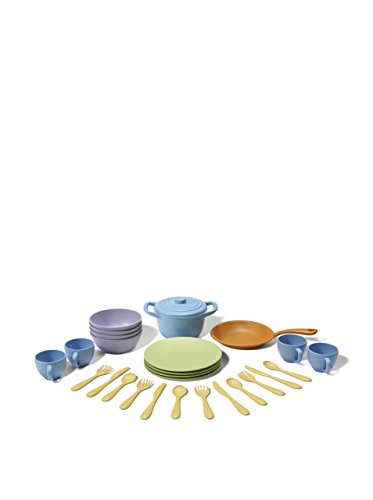 Green Toys Cookware and Dining Set (Set Athena Dining)