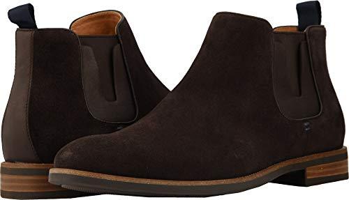 Florsheim Men's Uptown Plain Toe Gore Boot Brown Suede/Leather 10.5 D US ()