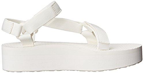 Teva Universal Sandalias W Flatform White OF4nOU0