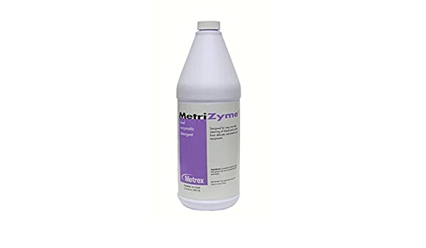 Metrex 10-4005 MetriZyme - Detergente de doble enzima ...