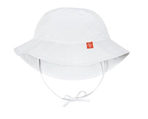 L/ässig Chapeau de Soleil R/éversible Blanc Taille Nouveau N/é 0-6 Mois
