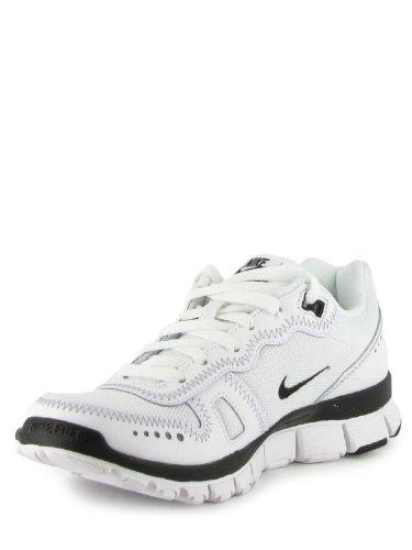 Nike Free Waffle AC Leather White 454399 101 White White Black