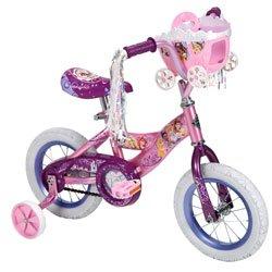 Huffy 12-inch Girls Disney Princess Bike Shimmer Pinkglitter Pink by Huffy