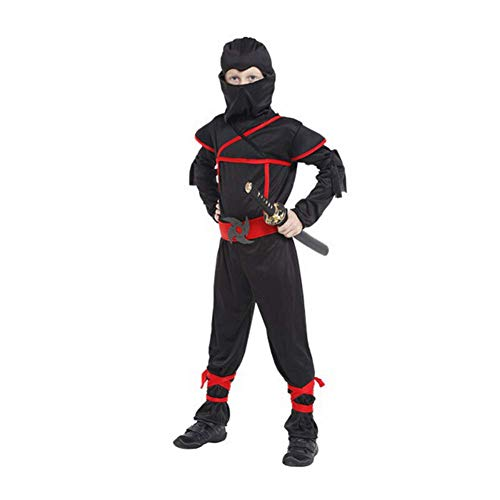 LCMJ WS Halloween Costumes Fun Suit Ninja Clothes Party Cosplay for Kids Boys Child (Size : XL) ()