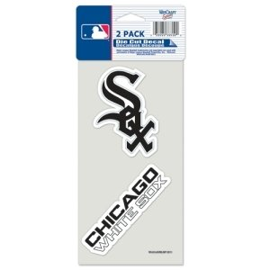 Chicago White Sox Die Cut Decals 2-Pack 4