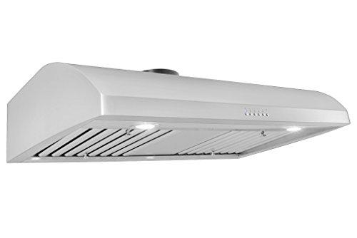 Proline Professional Under Cabinet Range Hood PLJW 125.36 900 CFM, 36