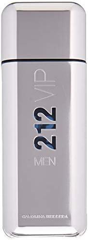 212 VIP Men by Carolina Herrera 3.4 Fluid Ounce Eau de Toilette Men Cologne Spray