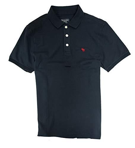 - Abercrombie & Fitch Men's Polo Shirt (Navy, L)