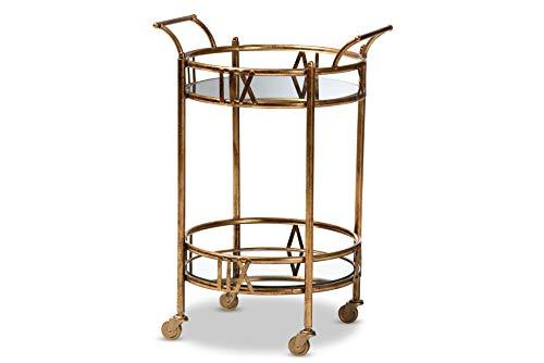 bronze wine cart - 8