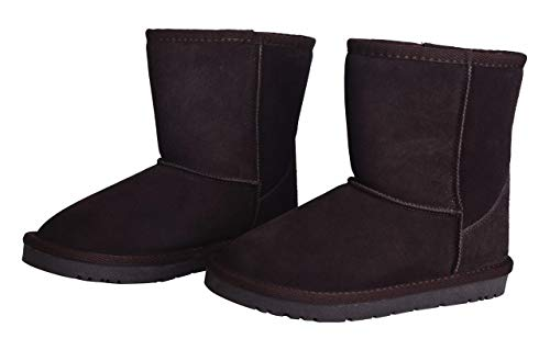 Adults Non Slip CAMSSOO Boots Unisex Warm Boots Keep Chocolate Snow and Snow qqg4twB