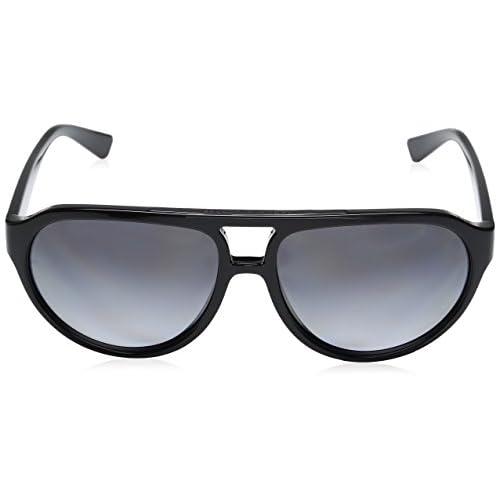 best men's polarized sunglasses zm74  Armani Exchange Men's Injected Man Polarized Aviator Sunglasses best