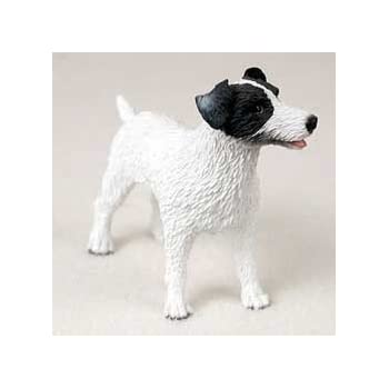 Amazon.com: Jack Russell Terrier Figurine Smooth BW: Toys
