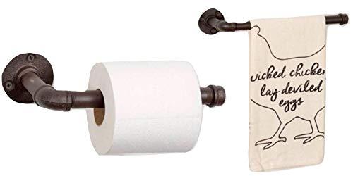 Modern Country Toilet Paper Holder - Rustic Bathroom Toilet Paper Holder 9