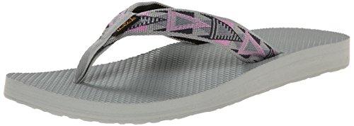Teva Damen Classic Flip Flop Mosaik-Rosa