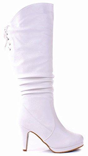 JJF S (White Sexy Boots)