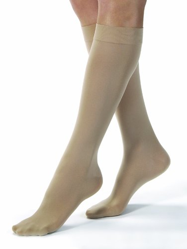 Jobst Opaque K/H 30-40 mmHg Silky Beige Medium by Marble Medical