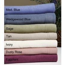 Cozy Fleece Microfleece Sheet Set, California King, Tan