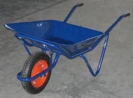 運搬用一輪車2才(カート車)浅型(猫ネコねこ車)ノーパンク仕様 B003VDXIXY