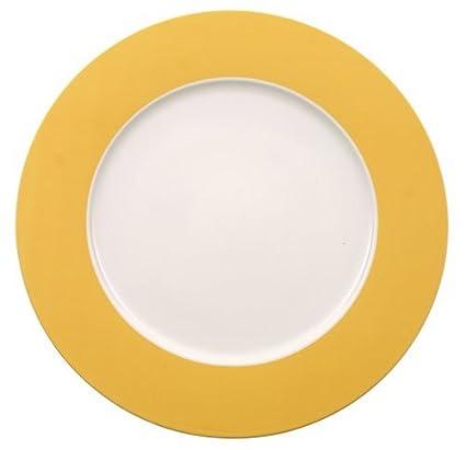 Villeroy u0026 Boch Paradise Yellow 12-Inch Buffet Plate  sc 1 st  Amazon.com & Amazon.com | Villeroy u0026 Boch Paradise Yellow 12-Inch Buffet Plate ...