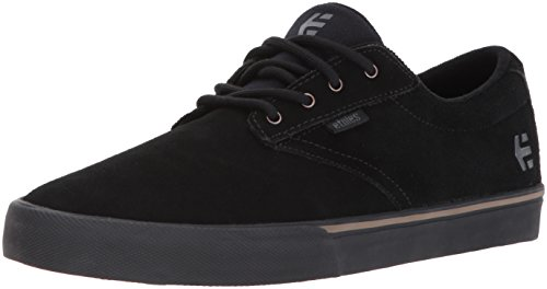 Etnies Men's Jameson Vulc Skate Shoe, Black/Black/Gum, 9.5 Medium US