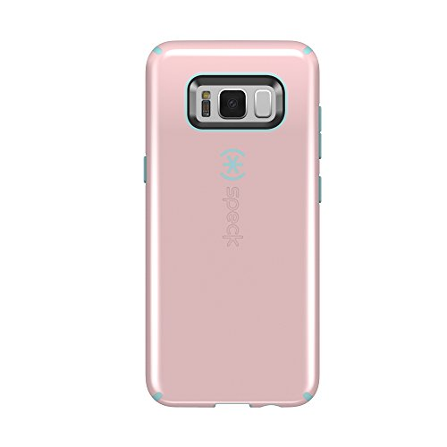 Speck Products (90210-C085) CandyShell Cell Phone Case for Galaxy S8 - Quartz Pink/River Blue (Samsung Galaxy Note 8 Specs And Price)