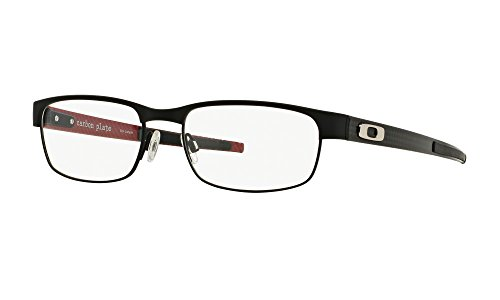 OX5079-0153 Eyeglasses Matte Black Clear Demo 53 18 (Genuine Oakley Sunglasses)