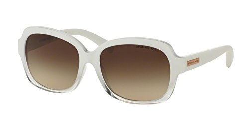 Michael Kors Mitzi III Rectangle Sunglasses White Gradient