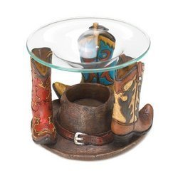 Home Locomotion - Cowboy Boots Oil Warmer