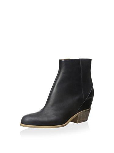MM6 Maison Martin Margiela Women's Leather Boot, Black, 37 M EU/7 M - Margiela Online