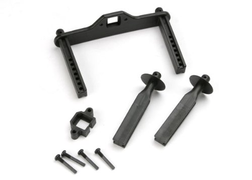 Traxxas 4914R Body Mount Posts, Front and Rear