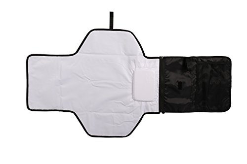 Baby Nappy Changing Mat/Diaper Changing Pad with Storage Pockets/Portable...