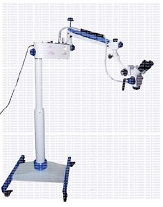Tathastu Dental Microscope, On Stand With Caster Wheels by Tathastu