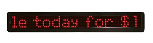 Mystiglo Scrolling Messenger LED Sign - 26