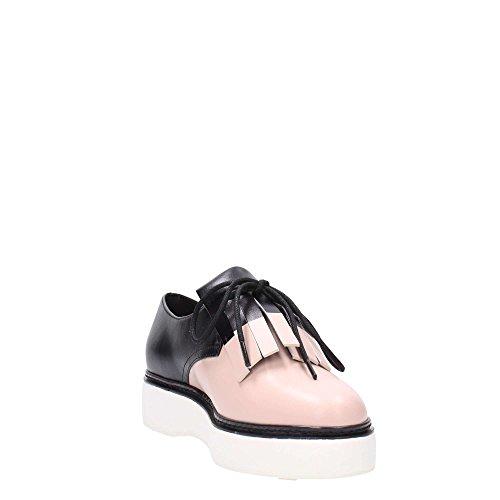 What For - Zapatos de cordones de Piel para mujer rosa rosa Rosa
