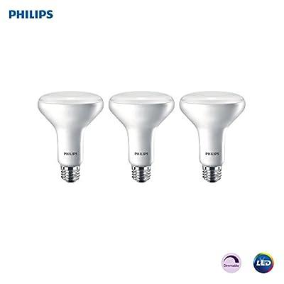Philips LED Dimmable BR30 Light Bulb: 650-Lumen