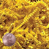 Krafty Klassics 1/2 lb (8oz) Yellow Crinkle Cut Crimped Paper Shred