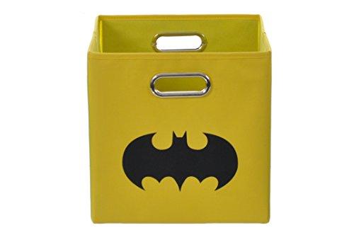 Batman Shield Folding Storage Bin, Yellow